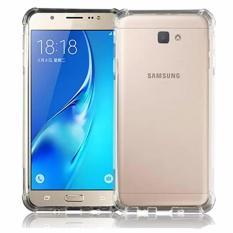 Case Anti Shock / Anti Crack Elegant Softcase  for Samsung Galaxy J7 Prime - White Clear
