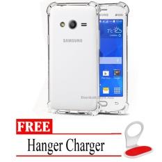 Case Anti Shock / Anti Crack Elegant Softcase for Samsung Galaxy V / G313 / Ace 4 -  Clear + Free H