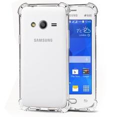 Case Anti Shock / Anti Crack Elegant Softcase  for Samsung Galaxy V (G313) - White Clear