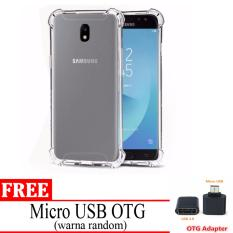 Case Anti Shock / Anti Crack Elegant Softcase for Samsung J5 Pro 2017 / J530 - Free Mikro USB OTG