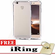 Case Anti Shock / Anti Crack Elegant Softcase for Xiaomi Redmi 3 Pro – White Clear + Free iRing