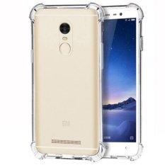 Case Anti Shock / Anti Crack Elegant Softcase  for Xiaomi Redmi Note 3 - White Clear
