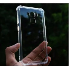 Case Anti Shock / Anti Crack for Asus Zenfone 3 Zoom / ZE553TL - Belakang Acrilic Keras - Pinggir Silicone Soft - Clear