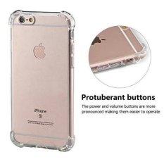 Case Anti Shock / Anti Crack  for iPhone 4 / 4S - Belakang Acrilic Keras - Pinggir Silicone Soft - Clear