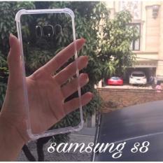 ... Acrylic Anticrack Mika Case for Samsung Galaxy S8 Belakang Acrilic Keras Pinggir Silicone Soft