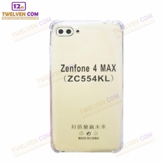 Case Anti Shock Anti Crack Softcase Casing for Asus Zenfone 4 Max Pro ZC554KL - Clear