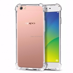 Case Anti Shock Anti Crack Softcase Casing for Oppo F1 Plus - Clear