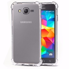 Case Anti Shock Anti Crack Softcase Casing for Samsung J1 Ace - Clear