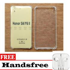 Case Anti Shock / Anti Pecah / Anti Crack Elegant Softcase for Huawei Honor 5A / Y6 II + Bonus Headset IPHONE