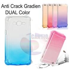 Case Anti Shock Gradient Samsung Galaxy J2 Prime Ultrathin Anti Crack Elegant Softcase Anti Jamur Air Case 0.3mm / Silicone Samsung Galaxy J2 Prime / Soft Case / Silikon Anti Crack Warna / Case Hp / Case Samsung J2 Prime / Pelindung Hp - Blue / Biru