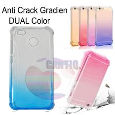 Case Anti Shock Gradient Xiaomi Redmi 3S Ultrathin Anti Crack Elegant Softcase Anti Jamur Air Case 0.3mm / Silicone Xiaomi Redmi 3S / Soft Case / Silikon Anti Crack Warna / Case Hp / Case Xiaomi 3S / Pelindung Hp - Blue / Biru