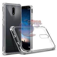 Case Anti Shock Nokia 6 Ultrathin Anti Crack Elegant Softcase Anti Jamur Air Case 0.3mm / Silicone Nokia 6 / Soft Case / Silikon Anti Crack / Case Hp / Case Nokia 6 / Pelindung Hp - Putih Transparant