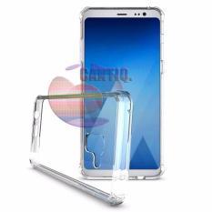 Case Anti Shock Samsung Galaxy A5 2018 A530 Ultrathin Crack Elegant Softcase Jamur Air 03mm Silicone Soft