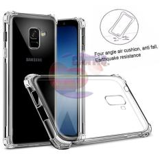 Case Anti Shock Samsung Galaxy A8 2018 Ultrathin Anti Crack Elegant Softcase Anti Jamur Air Case 0.3mm / Silicone Samsung A8 2018 / Soft Case / Silikon Anti Crack / Case Hp / Case Samsung Galaxy A8 2018 / Pelindung Hp - Putih Transparant