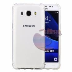 Case Anti Shock Samsung Galaxy J5 2016 Ultrathin Anti Crack Luxury Softcase Anti Jamur Air Case 0.3mm / Silicone Samsung Galaxy J5 2016 / Soft Case / Case Hp - Putih Transparant