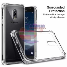 Case Anti Shock Samsung Galaxy J7 Plus Ultrathin Anti Crack Elegant Softcase Anti Jamur Air Case 0.3mm / Silicone Samsung J7 Plus / Soft Case / Silikon Anti Crack / Case Hp / Case Samsung Galaxy J7 Plus / Pelindung Hp - Putih Transparant