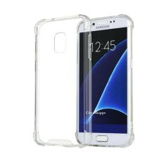 Case Anti Shock Samsung Galaxy J7 Plus Ultrathin Anti Crack Samsung J7 Plus  Luxury Softcase Anti Jamur Air Case 0.3mm / Silicone Samsung Galaxy J7 Plus / Anti Crack Samsung c8 Soft case samsung j7 Plus /  Case Hp Samsung J7+ - Putih Transparant
