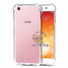 Case Anti Shock Vivo V5 plus anti crack vivo X9 Ultrathin Anti Crack Elegant Softcase Anti Jamur Air Case 0.3mm / Silicone Vivo X9 / Soft Case / Silikon Anti Crack Vivov5+ / Case Hp Vivo V5 plus - Putih Transparant