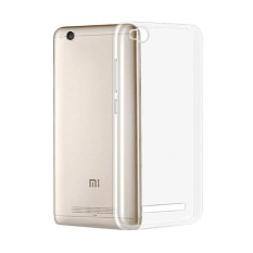 Case Anti Shock Xiaomi Redmi 4A Ultrathin Anti Crack Elegant Softcase Anti Jamur Air Case 0.3mm / Silicone Xiaomi Redmi 4A / Soft Case / Silikon Anti Crack / Case Hp - Putih Transparant