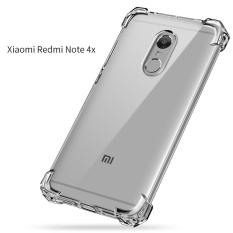 Case Anti Shock Xiaomi Redmi Note 4x Ultrathin Anti Crack Elegant Softcase Anti Jamur Air Case 0.3mm / Silicone Xiaomi Redmi Note 4x / Soft Case / Silikon Anti Crack / Case Hp - Putih Transparant