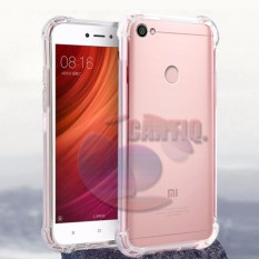 Case Anti Shock Xiaomi Redmi Note 5A Ultrathin Anti Crack Elegant Softcase Anti Jamur Air Case 0.3mm / Silicone Xiaomi Redmi Note 5A / Soft Case / Silikon Anti Crack / Case Hp / Case Xiaomi Note 5A / Pelindung Hp - Putih Transparant