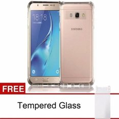 Spesifikasi Case Anticrack Case Anti Cr*ck Case Anti Shock Case For Samsung Galaxy A5 2017 A520 Fuze Fyber Clear Free Premium Tempered Glass Case