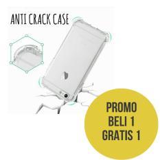 Case Anticrack Vivo V5/ Vivo V5s / Vivo Y67 Softcase Premium / Case anti Banting - Clear / Beli 1 Gratis 1