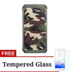 Toko Case Army Military Pc Tpu Shockproof For Samsung Galaxy J7 Prime Hijau Gratis Tempered Glass Terlengkap
