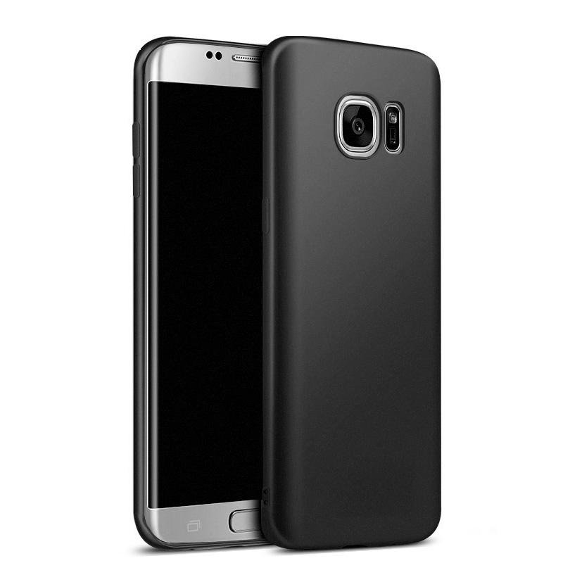 Case Baby Skin Ultra Thin Back Cover Case For Samsung Galaxy S7 Flat - Black
