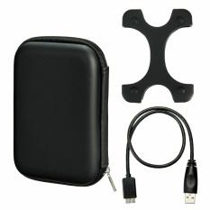 Beli Case Bag Sarung Silikon Micro Usb 3 Kabel Untuk 2 5 Seagate Wd Hdd Hard Disk Intl Yang Bagus