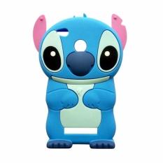 Case Boneka Stitch Softcase Casing for Xiaomi Redmi 3/3S/3 Pro - Biru