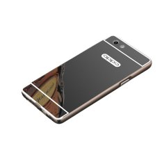 Review Case Bumper Oppo F1S Selfie Expert Aluminium Mirror With Sliding Backcase Hardcase Casing Hp Black Case Di Dki Jakarta