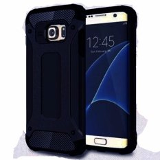 Case Capsule Ultra Rugged For Samsung Galaxy J7 Prime Hybrid Armor TPU Shockproof Anti Slip Soft Back Case / Softcase / Casing Hp - Biru Tua / Navy