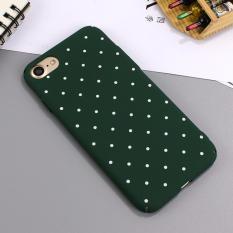 Case Casing iPhone 6/6s Premium Hardcase Dove - Polkadot - Hijau