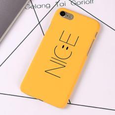 Case Premium HardcaseIphone 6/6s - Nice - Yellow