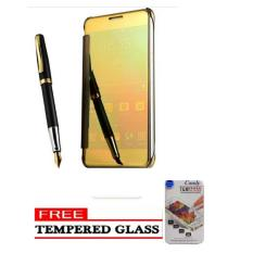 Case Chanel Executive Samsung J7 Prime Flipcase Flip Mirror Cover S View Transparan