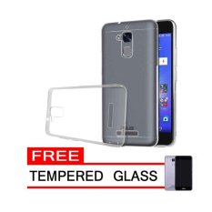 Case Chanel Softcase cover Ultrathin   for Asus Zenfone 3 Max ZC520TL -  CLEAR FREE TEMPERED GLASS