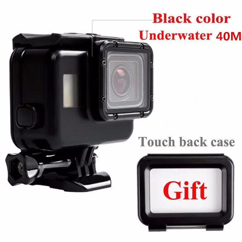 Harga Case Cover Tahan Air 40M Untuk Menyelam Pelindung Kamera Gopro Hero 5 Black Terbaik