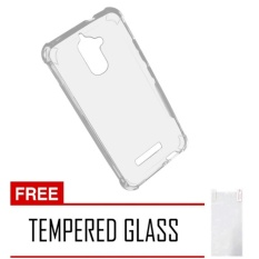 "CASE EXECUTIVE ANTI CRACK / ANTI SHOCK CASEOLOGY FUZE ACRYLIC  for ASUS ZENFONE 3 MAX 5.2"" (ZC520TL) - BENING TRANSPARANT FREE TEMPERED GLASS"