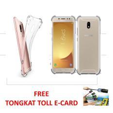 Case  Executive  Anti Shock / Anti Crack  Fuze/ Acrylic  for  Samsung Galaxy J5 Pro - Clear Free Tongkat Toll E-Card