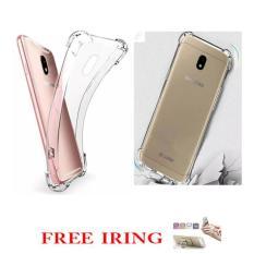 Case  Executive  Anti Shock / Anti Crack  Fuze/ Acrylic  for  Samsung Galaxy J7 Pro - Clear Free I ring