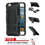 Toko Case Executive Black Armor 3 In 1 Dual Layer Kickstand Holder Cell With Stand For Apple Iphone 6 Full Black Free Anti Cr*Ck J7 Prime Lengkap Dki Jakarta