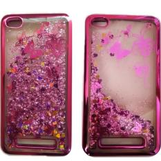 Jual Case Executive Fashion Glitter Water Blink For Xiaomi Redmi 4A Rose Gold Branded Original