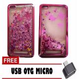 Review Pada Case Executive Fashion Glitter Water Blink For Xiaomi Redmi 4A Rose Gold Free Otg