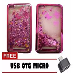 Ulasan Tentang Case Executive Fashion Glitter Water Blink For Xiaomi Redmi 4A Rose Gold Free Otg