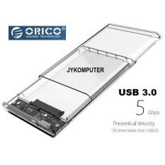 Jual Case External Hd Orico 2 5 Transparent Usb3 Hdd Enclosure