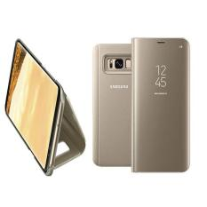 Jual Case Flipcase Cover S View Chrome With Stand For Samsung Galaxy S8 Plus Gold Case Branded