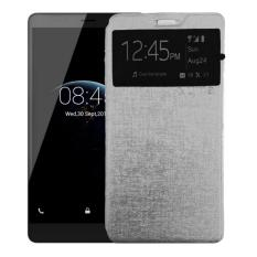 Case Flipcover Double Protective For Lenovo A7010 (Vibe K4 Note) - Silver