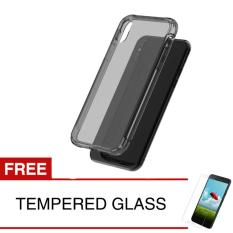 Case For Apple Iphone X Abu Abu Gratis Tempered Glass Ultra Thin Soft Case Softcase Murah Di Dki Jakarta
