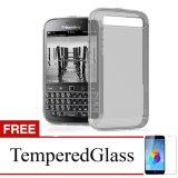 Jual Case For Blackberry Q20 Abu Abu Gratis Tempered Glass Ultra Thin Soft Case Lengkap